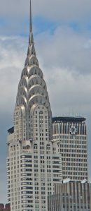 chrysler building on a sunny day!