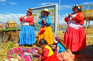 the ladies of the uros