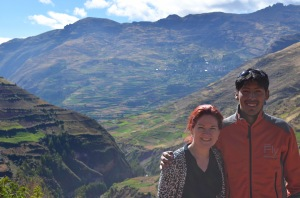 david and I in the sacred valley