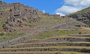 inca ruins near pisac