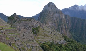 machu picchu before sunrise