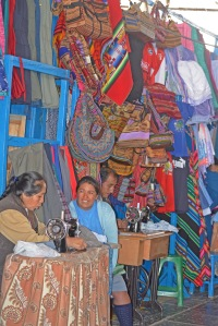 colourful cusco market