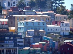 the streets of valparaiso